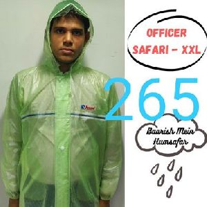 Officer Mens PVC Raincoat