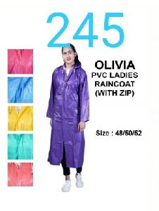 Olivia Ladies PVC Raincoat