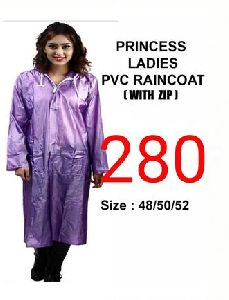 Princess Ladies PVC Raincoat