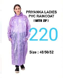 Priyanka Ladies PVC Raincoat