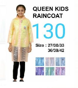 Queen Girls PVC Raincoat