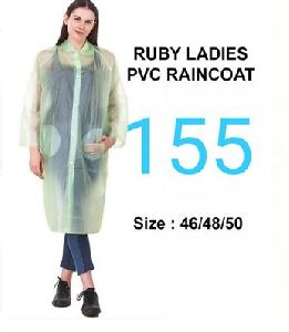 Ruby Ladies PVC Raincoat