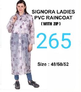 Signora Ladies PVC Raincoat