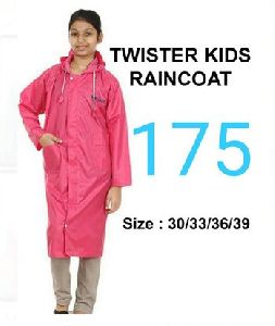 Twister Girls PVC Raincoat