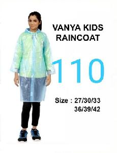 Vanya Girls PVC Raincoat