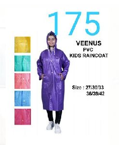 Veenus Girls PVC Raincoat