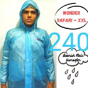 Wonder Mens PVC Raincoat