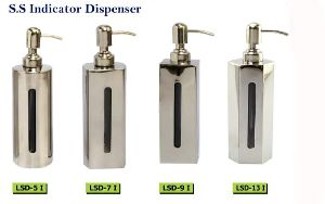 SS Indicator Soap Dispenser