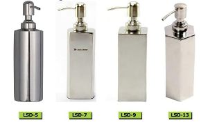 SS Liquid Plain Soap Dispenser