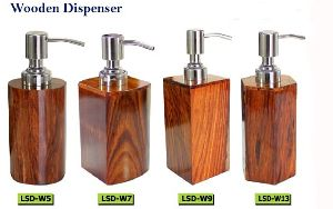 Wooden Liquid Soap Dispenser