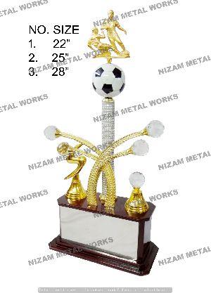 Big Football Trophy