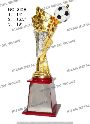 Football Gold Trophies