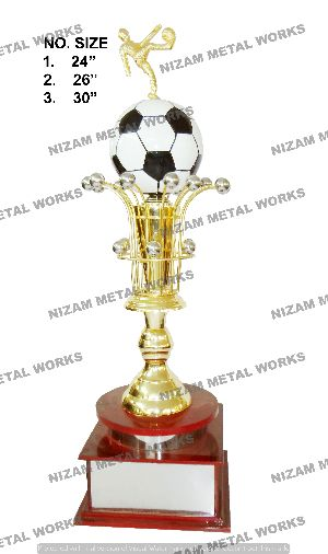 Football Metal Trophies