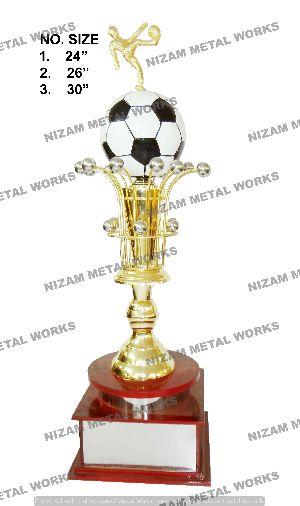 Football Metal Trophies