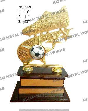 Football Metal Trophy