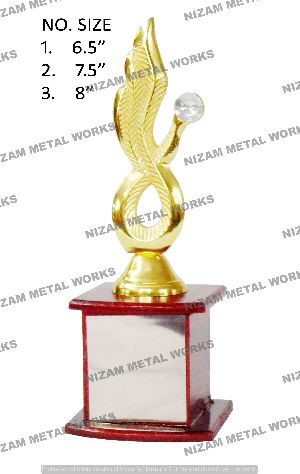 Mini Brass Trophy