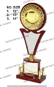 Wooden Cricket Trophy