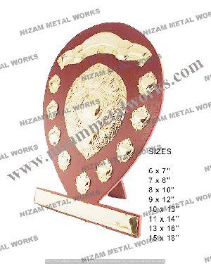 Wooden Sports Shield