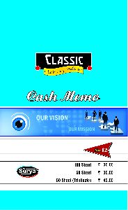 Big Cash Memo Book