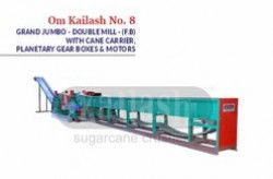 Automatic Double Mill Sugarcane Crusher