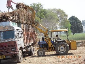 Sugarcane Grabber Cum Loader