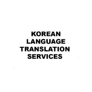 Korean Language Translation