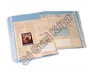 Sheet Protector File