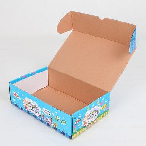 Colored Printed Corrugated Box