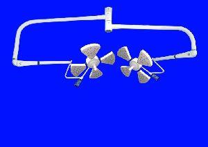 Hospilite Carina 4+4 Ceiling LED Operation Theatre Light