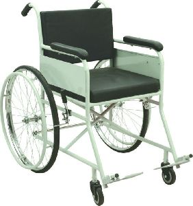 Non Folding Invalid Wheelchair