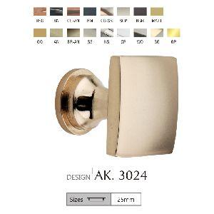 AK. 3024 Brass Door Knobs