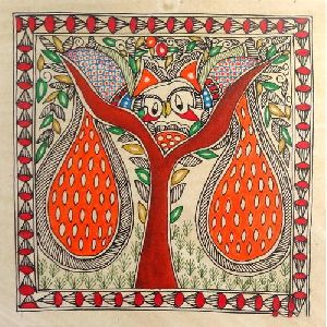 Decorative Madhubani Painting