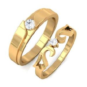 Gold Couple Rings