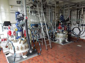 Distillation Plant with Glass Lined Reactor