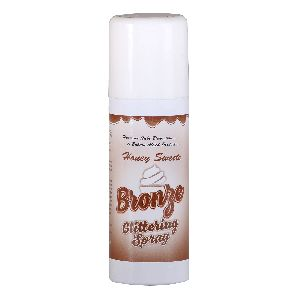 Bronze Glittering Spray