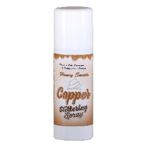 Copper Glittering Spray