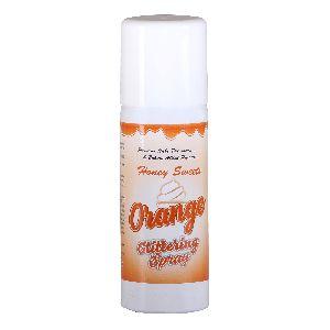 Orange Glittering Spray