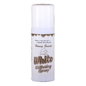 Pearl White Glittering Spray