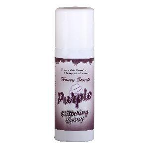 Purple Glittering Spray