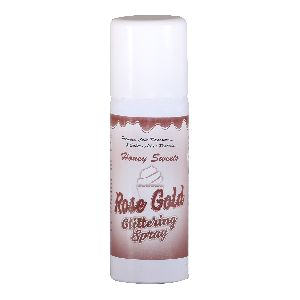 Rose Gold Glittering Spray