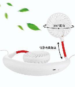 Neck Fan with Bluetooth Earphone