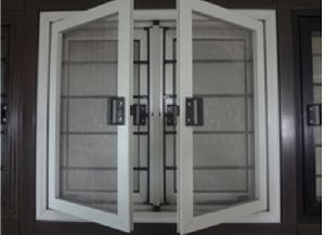 4K Series Prepainted Galvanized Steel Windows