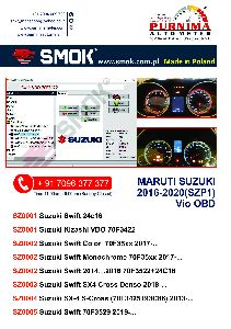 Suzuki OBD (SZP 1) Full Package