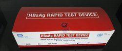 HbsAg Test Card