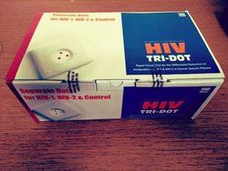 HIV Tri-Dot Test Card