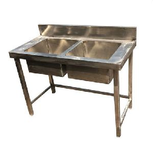Stainless Steel Double Bowl Sink