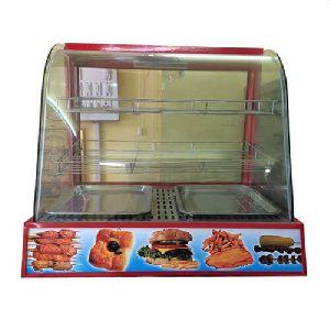 Stainless Steel Snacks Warmer Display Counter