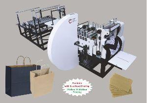 Large Paper Bag Making Machine