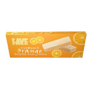 75 Gm Fun Munch Orange Cream Wafers