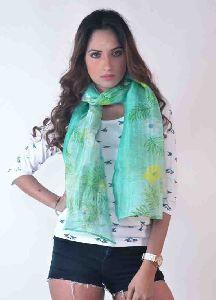 Silk Linen Scarves